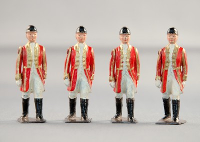 W.Britains Queens Coronation Figures