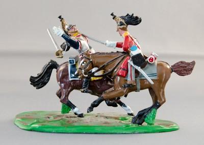 Napoleonic Cavalry Duel