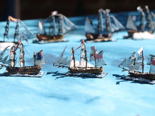 1200 Scale Napoleonic Naval Battle