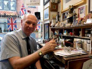 Chris Viner proprietor of Soldiers of Rye